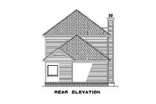 House Plan Design - Southern Exterior - Rear Elevation Plan #17-2032