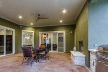 Dream House Plan - Prairie Exterior - Covered Porch Plan #935-13