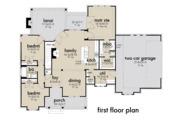 Farmhouse Style House Plan - 3 Beds 2 Baths 1486 Sq/Ft Plan #120-262