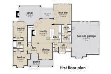 Farmhouse Floor Plan - Main Floor Plan Plan #120-262