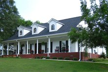 Home Plan - Country Exterior - Front Elevation Plan #44-155