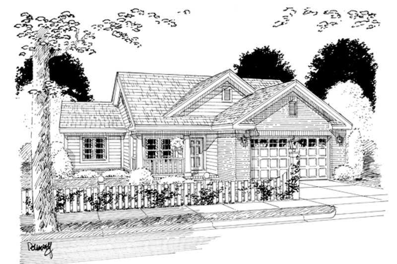 Traditional Exterior - Other Elevation Plan #513-2053 - Houseplans.com