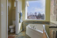 Dream House Plan - Master Bath - 1400 square foot cottage