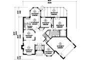 European Style House Plan - 2 Beds 2 Baths 5518 Sq/Ft Plan #25-4695 Floor Plan - Main Floor Plan