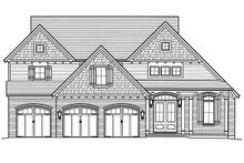 Home Plan - Traditional Exterior - Front Elevation Plan #46-877