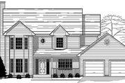 Traditional Style House Plan - 4 Beds 2.5 Baths 2300 Sq/Ft Plan #123-101 Exterior - Front Elevation