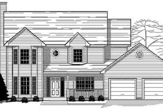 Traditional Exterior - Front Elevation Plan #123-101