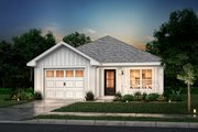 Cottage Style House Plan - 3 Beds 2 Baths 1250 Sq/Ft Plan #430-39