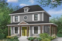 House Plan Design - Traditional Exterior - Front Elevation Plan #23-503