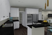 Ranch Style House Plan - 2 Beds 2 Baths 1767 Sq/Ft Plan #1060-2 Interior - Kitchen
