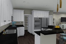 House Plan Design - Ranch Interior - Kitchen Plan #1060-2