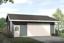 Traditional Exterior - Front Elevation Plan #22-551
