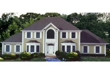 Dream House Plan - Colonial Exterior - Front Elevation Plan #3-228