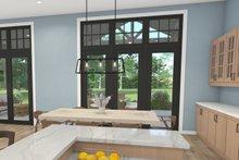 House Plan Design - Craftsman Interior - Dining Room Plan #124-1240
