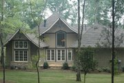Craftsman Style House Plan - 4 Beds 3.5 Baths 3151 Sq/Ft Plan #413-130 Exterior - Rear Elevation