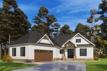 Dream House Plan - Craftsman Exterior - Other Elevation Plan #437-114