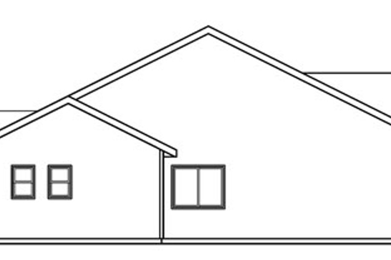 Craftsman Exterior - Other Elevation Plan #124-781 - Houseplans.com