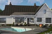 Farmhouse Style House Plan - 4 Beds 3.5 Baths 2514 Sq/Ft Plan #51-1143 Exterior - Rear Elevation
