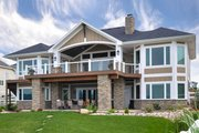 Craftsman Style House Plan - 2 Beds 2.5 Baths 2605 Sq/Ft Plan #1069-1 Exterior - Rear Elevation