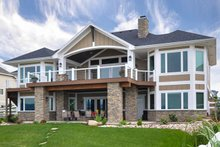 House Design - Craftsman Exterior - Rear Elevation Plan #1069-1