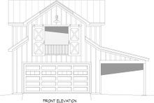 House Plan Design - Country Exterior - Front Elevation Plan #932-355