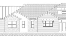 House Design - Optional Side Loading Left Elevation