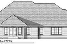 Traditional Exterior - Rear Elevation Plan #70-833