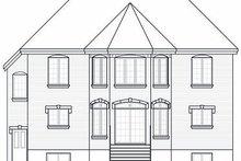 Home Plan - European Exterior - Rear Elevation Plan #23-865