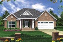 House Plan Design - Ranch Exterior - Front Elevation Plan #21-182