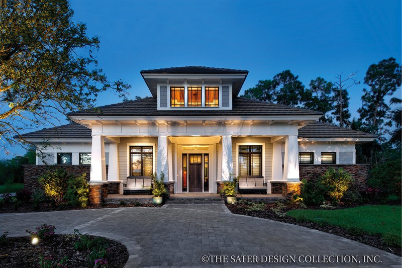 House Design - Bungalow Exterior - Front Elevation Plan #930-19
