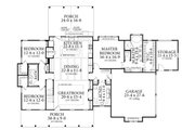 Farmhouse Style House Plan - 3 Beds 2 Baths 2252 Sq/Ft Plan #406-9653 Floor Plan - Main Floor Plan