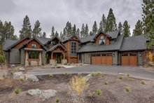 Dream House Plan - Craftsman Exterior - Front Elevation Plan #892-28