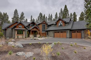 Home Plan - Craftsman Exterior - Front Elevation Plan #892-28
