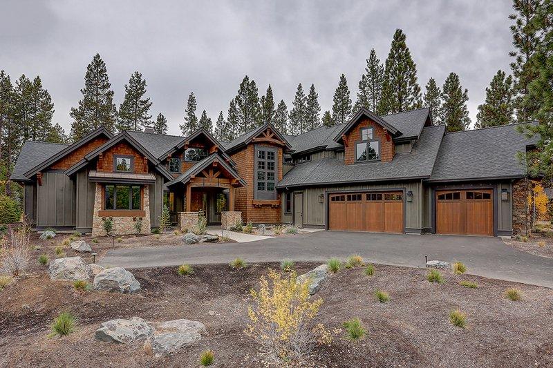 House Plan Design - Craftsman Exterior - Front Elevation Plan #892-28