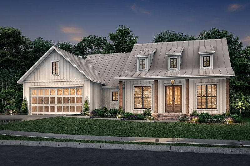Home Plan - Farmhouse Exterior - Front Elevation Plan #430-241