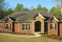 Dream House Plan - European Exterior - Front Elevation Plan #437-22
