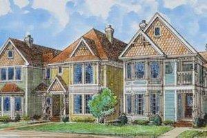 Victorian Exterior - Front Elevation Plan #410-292