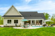 Farmhouse Style House Plan - 4 Beds 4 Baths 3952 Sq/Ft Plan #51-1160 Exterior - Rear Elevation