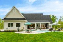 House Design - Farmhouse Exterior - Rear Elevation Plan #51-1160