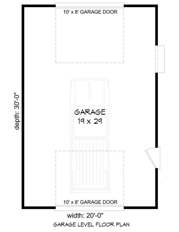 Farmhouse Floor Plan - Main Floor Plan #932-323