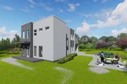 Modern Style House Plan - 3 Beds 1 Baths 2060 Sq/Ft Plan #549-13 Photo