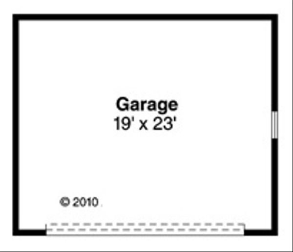 Architectural House Design - Traditional Floor Plan - Other Floor Plan #124-852