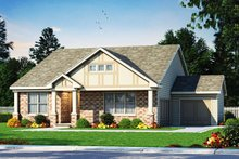 Ranch Exterior - Front Elevation Plan #20-2331