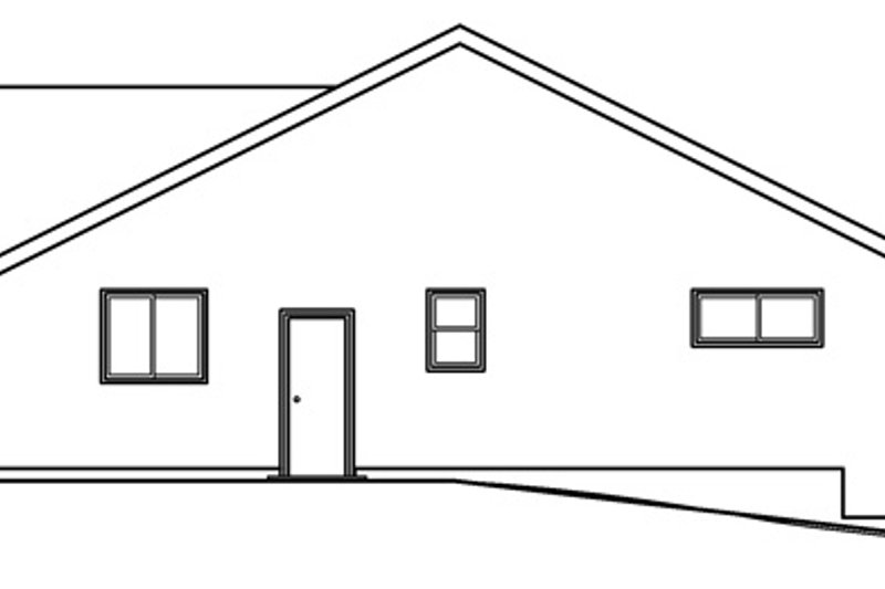 Country Exterior - Other Elevation Plan #124-368 - Houseplans.com