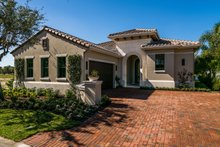 Dream House Plan - Mediterranean Exterior - Front Elevation Plan #930-480