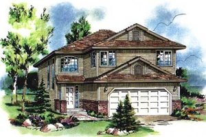 Traditional Exterior - Front Elevation Plan #18-4259