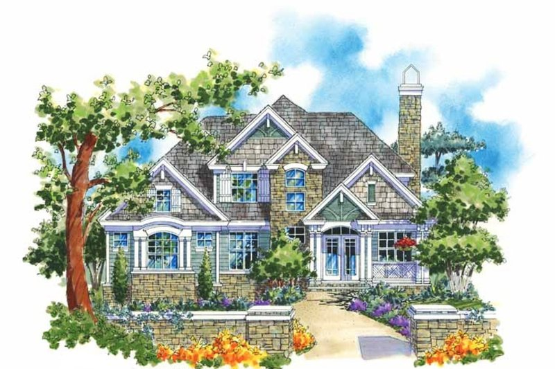 Home Plan - Traditional Exterior - Front Elevation Plan #930-113