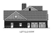 Craftsman Style House Plan - 4 Beds 4.5 Baths 2697 Sq/Ft Plan #56-587 Exterior - Other Elevation