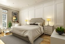 House Blueprint - Farmhouse Interior - Master Bedroom Plan #45-597