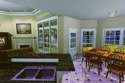 Southern Style House Plan - 3 Beds 2.5 Baths 1855 Sq/Ft Plan #21-102 Photo